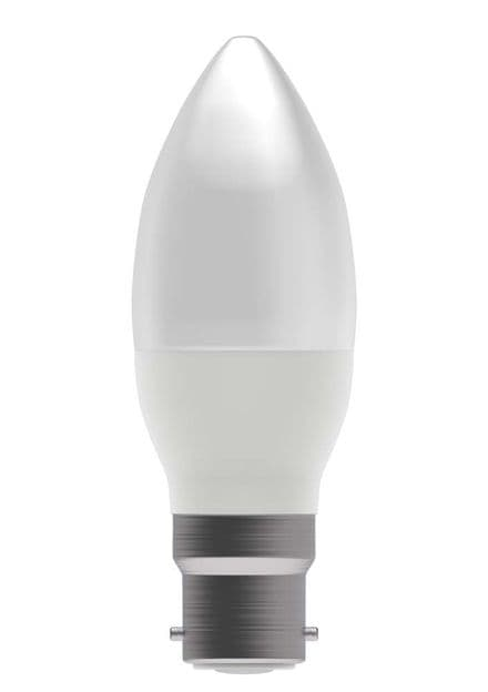 BELL 05830 7W LED Dimmable Candle Clear BC 2700K